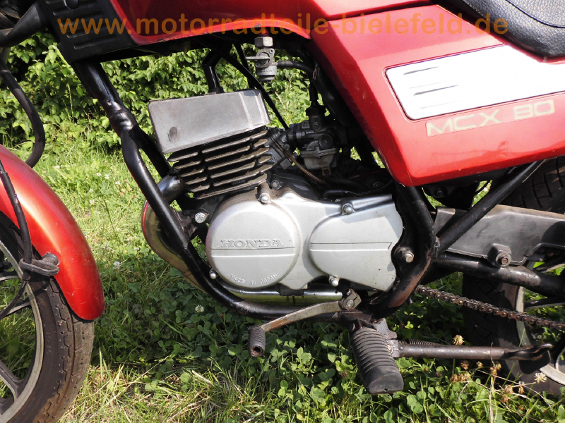 Honda mcx 80 s hc05 motorradteile for Honda financial services mailing address