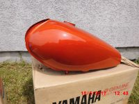 Yamaha RD125-RD200-RD250 Tank Orange-1