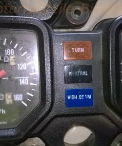 Tacho Drehzahlmesse Amaturen Cockpit aus Schlachtfest Honda CB 250 RS Deluxe