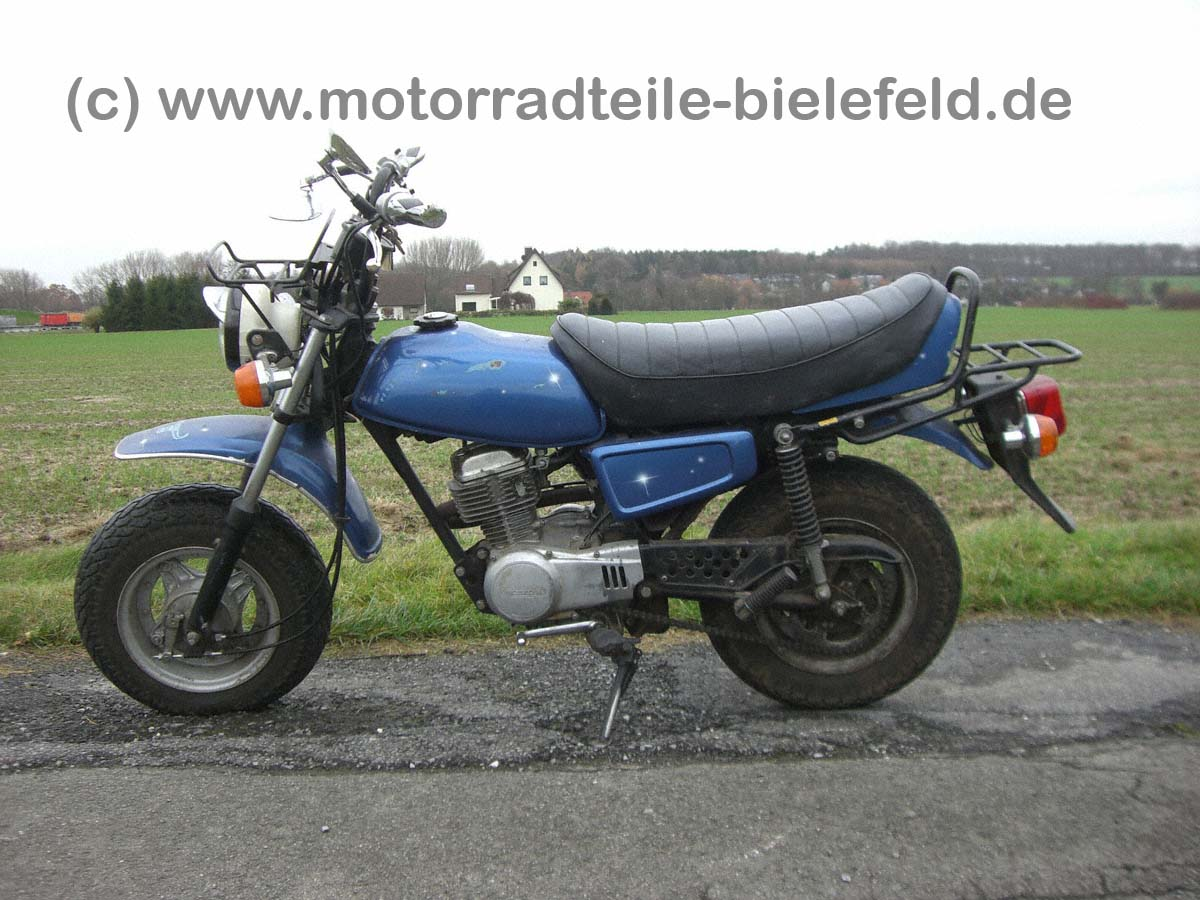 honda cy50 blau motorradteile. Black Bedroom Furniture Sets. Home Design Ideas