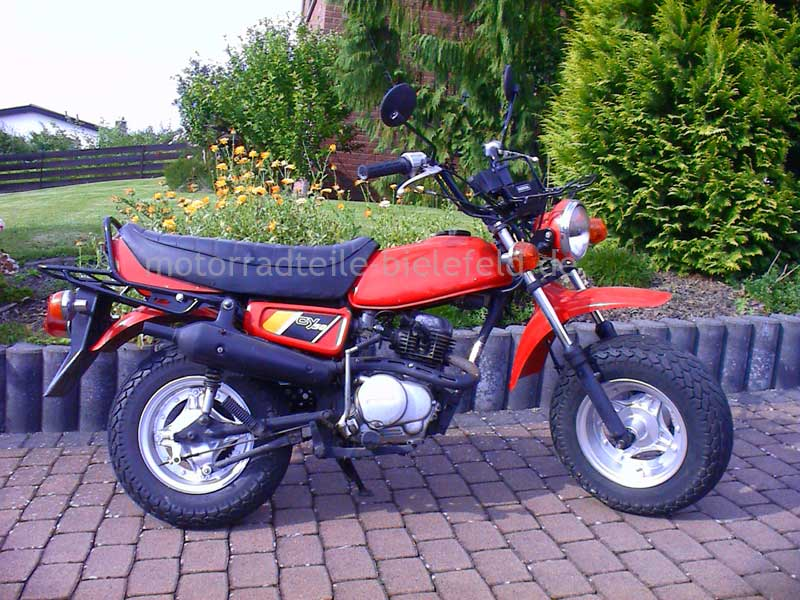 honda cy 50 rot motorradteile. Black Bedroom Furniture Sets. Home Design Ideas