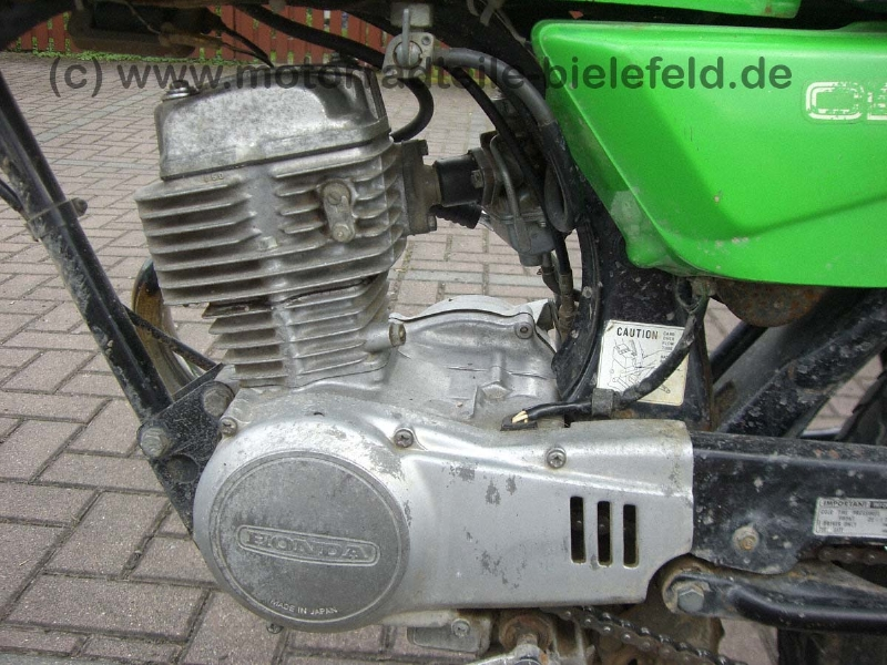 Honda CB 50 Grün | motorradteile-bielefeld.de