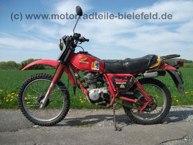 Honda XR125 Enduro Typ L125S   motorradteile-bielefeld.de