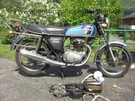 Honda CB 250G - 1