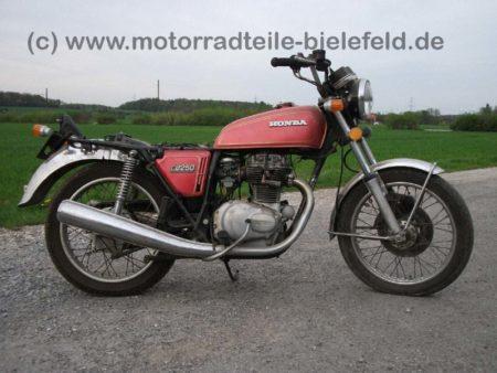 Honda CB 250G -Rot-Braun-1