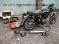 Honda CB 250G-SCHWARZ-1