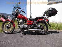 Honda_CA_125_REBEL_Chopper_rot_rostig_Scheibe_Topcase_Sissy-Bar_-_wie_JC24_no_VT_125_Shadow_1