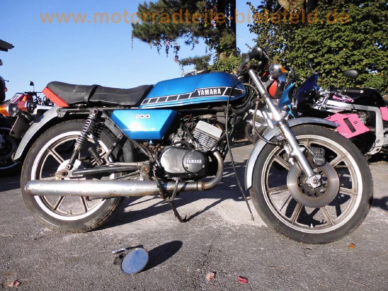 Yamaha Rd200dx 1e8 Motorradteile Bielefeldde