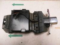 Verkleidung hinten Kennzeichenhalter HONDA VF 500 C V30 MAGNA Typ PC131