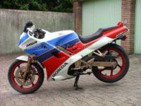 Honda NSR 125 HRC blau-weiß-rot JC20 -4