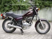 Yamaha SR125-Weinrot-1