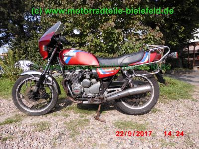 yamaha xj550 4v8 rot oldtimer motorradteile. Black Bedroom Furniture Sets. Home Design Ideas