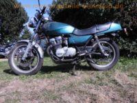normal_Suzuki_GSX400F_Katana_GS40XF_4-Zylinder_gruen_BSM_4-1_Auspuff_zurueckverlegte_Fussrasten-Anlage_1