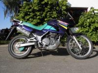 Kawasaki KLE500 Enduro FunDuro lila -1