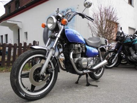 Honda CM400 Airbrush