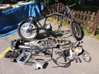Honda CB750 KZ RC01 Ersatzteile Rahmen mit Brief