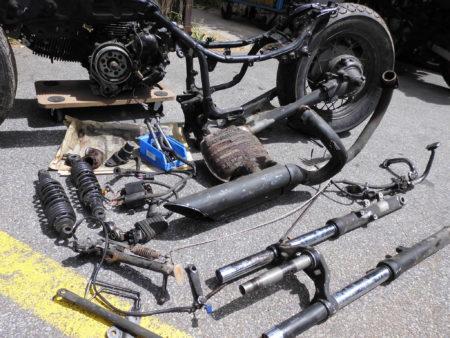 Yamaha 2YL 3BR  535 Ersatzteile Rahmen Motor Brief