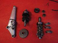 Yamaha XJ 550 4V8 Getriebewelle Walze Ersatzteile Zubehör