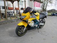 Honda CBR600F PC35 Sport-Tourer 98PS original unverbastelt tuerkis-gelb