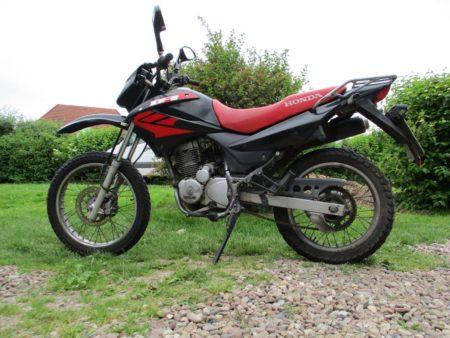 Honda XR125 JD19 A Ersatzteile Daelim 125 Motor verbaut, dreht