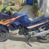 Kawasaki EX 250 GPZ Original Oldtimer Us Version Deutsche Papiere
